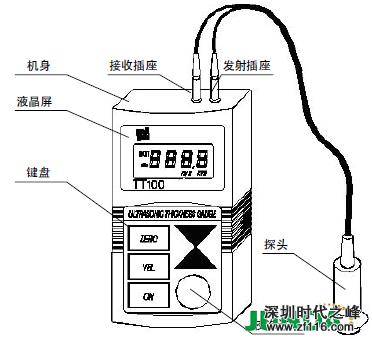 tt110 超声波测厚仪基本原理   超声波测量厚度的原理与光波测量原理
